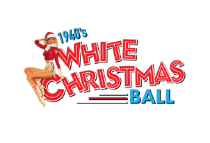 1940's White Christmas Ball logo