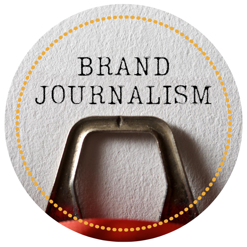 Brand Journalism Icon